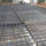 Фундамент из арматуры и бетона