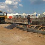 Бетононасос залив фундамента в Казани