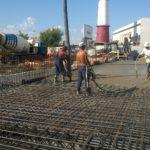 Залив бетон
